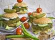 Grüne-Bohnen-Sliders