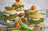 Grüne-Bohnen-Sliders – Burger Bo(h)nanza!