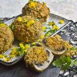 Gefüllte Champignons mit Couscous