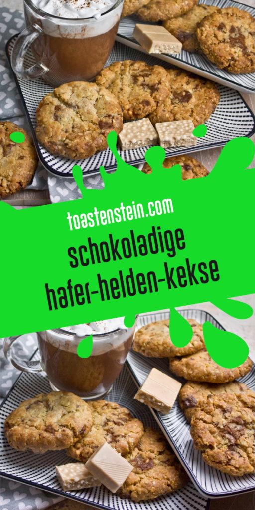 Extra knusprige Hafer-Helden-Kekse | Toastenstein