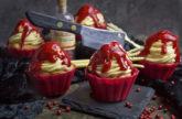 Orangen-Joghurt-Cupcakes [Halloween-Edition]