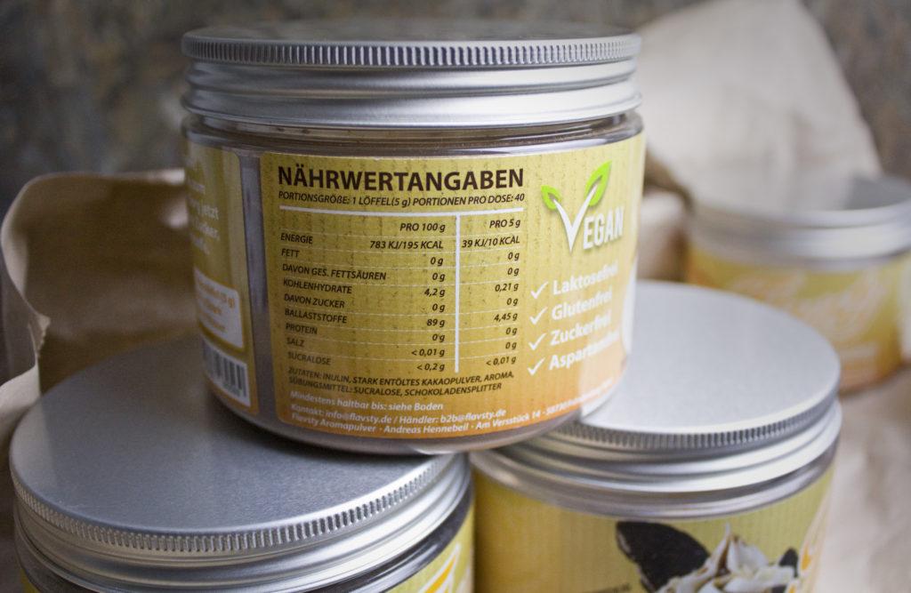 Toastenstein Test Flavsty Aromapulver Geschmackspulver