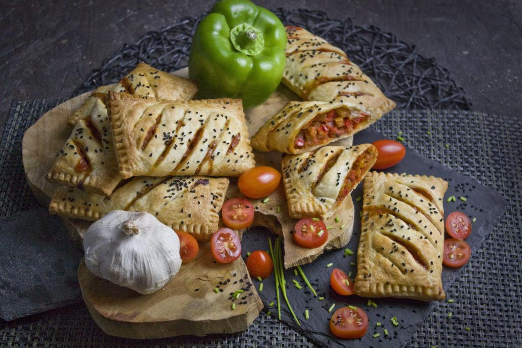 Herzhafte kleine Paprika-Strudel | Toastenstein