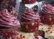 Weihnachtliche Fliederbeer-Punsch-Cupcakes