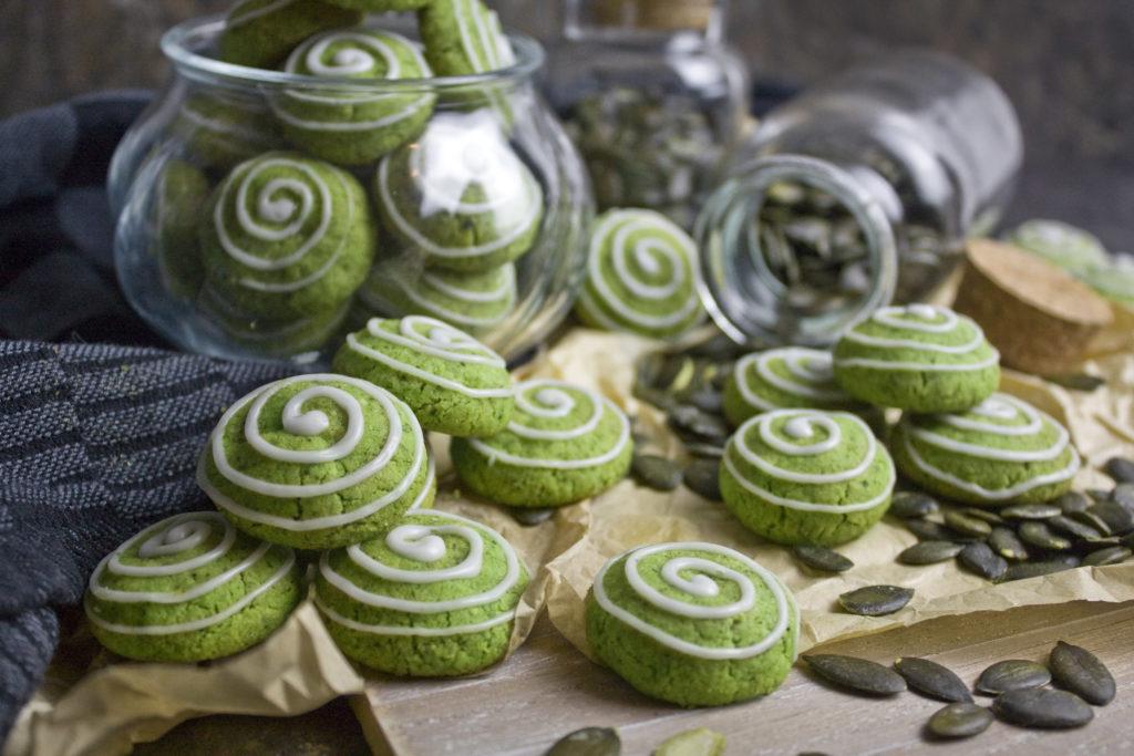 Knusprig-krümelige Kürbiskern-Kekse | Toastenstein