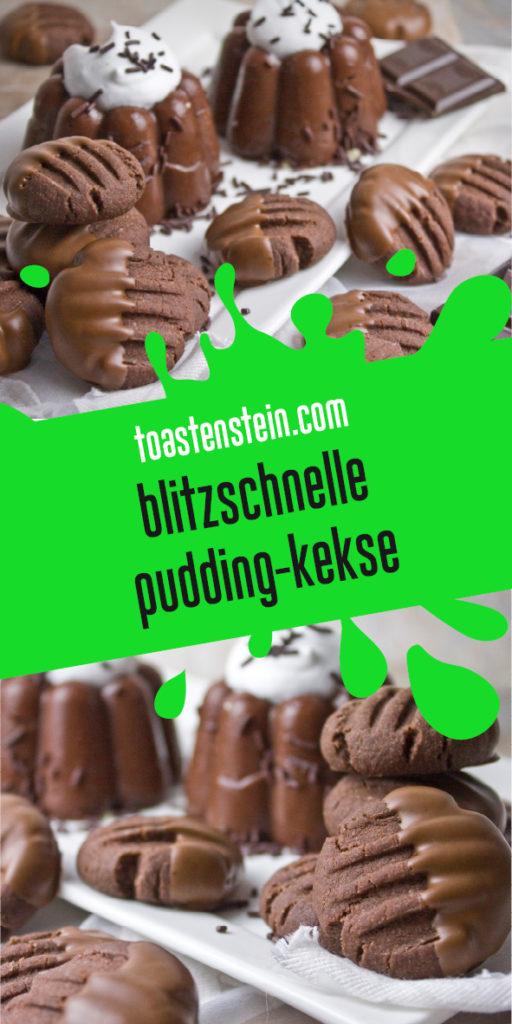 Schokoladige Pudding-Kekse | Toastenstein