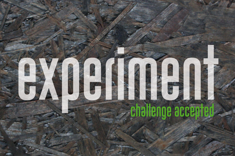 Experiment - Die Laborküche wird zur Versuchsküche