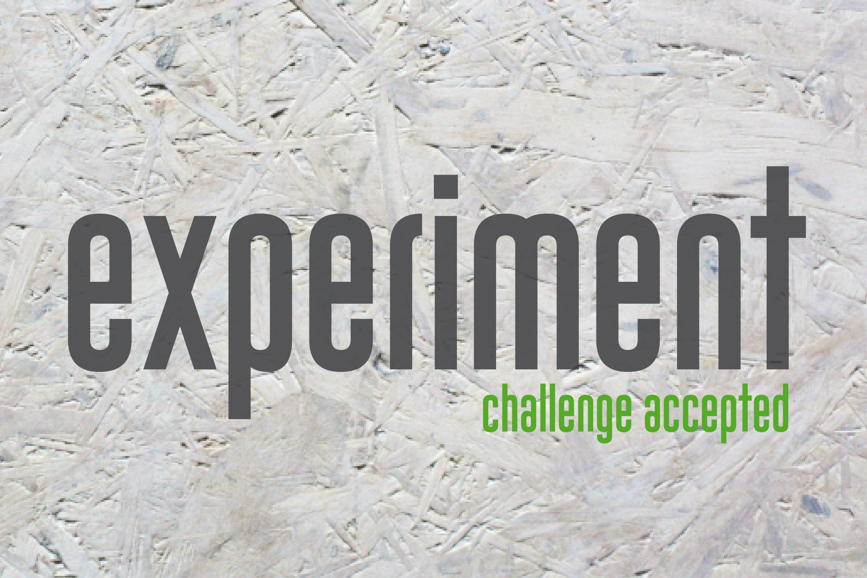 Experiment - Der Laborküche wird zur Versuchsküche