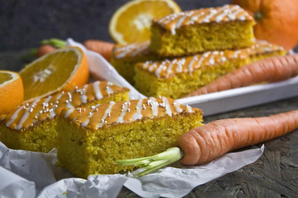 Orangen-Karotten-Kuchen mit Ingwer | Toastenstein