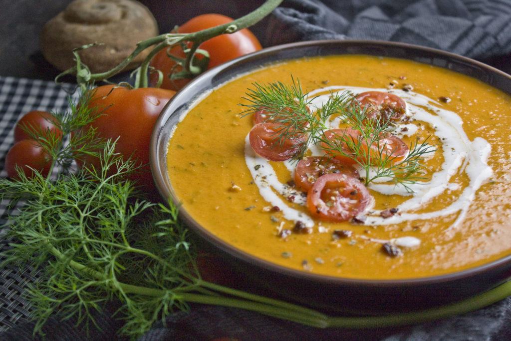 Dill-Tomaten-Suppe – Die Valentinstagssuppe | Toastenstein