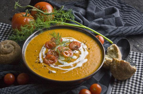 Dill-Tomaten-Suppe – Die Valentinstagssuppe