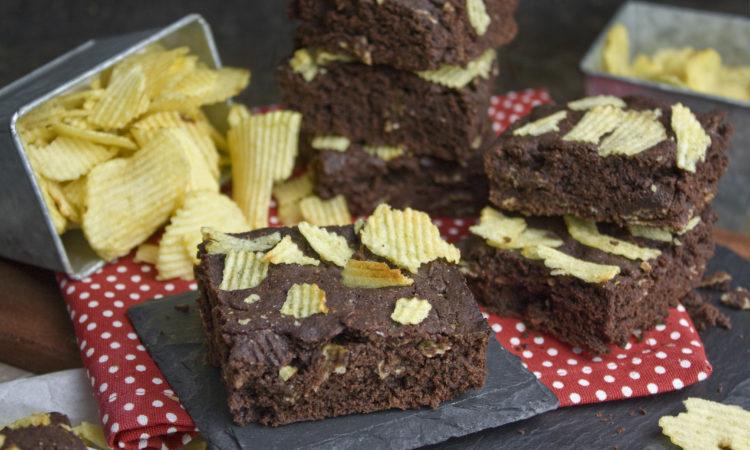 Saftige Kartoffelchip-Brownies [Frankenfoods] | Toastenstein