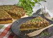 Deftiger Linsen-Lauch-Kuchen mit Zucchini