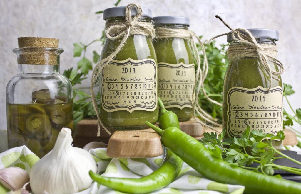 Für Feuerspucker! – Grüne Sriracha-Sauce | Toastenstein