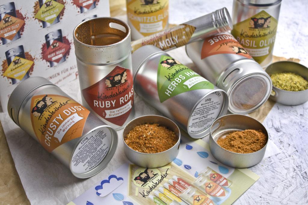 Karl Konrads Kindeskinder Gewürze Spices | Toastenstein
