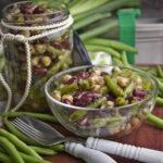 Fingerling-Sommer-Salat mit Limetten-Dressing