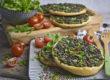 Grüne Linsen-Taler mit Rucola | Toastenstein