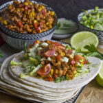 Tempeh-Tacos mit Mais und Paprika   Toastenstein