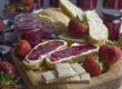 Blaubeer-Erdbeer-Aufstrich mit weißer Schokolade | Toastenstein