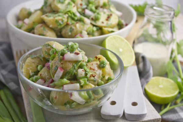 Fingerling-Sommer-Salat mit Limetten-Dressing | Toastenstein