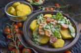 Gartengemüse-Ragout mit Polenta-Talern