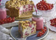 Johannisbeer-Vanille-Kuchen - Sauer macht lustig! | Toastenstein