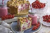 Johannisbeer-Vanille-Kuchen mit Streuseln