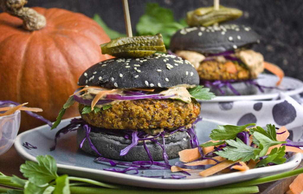 Kürbis-Quinoa-Burger – Der Herbst ist da! |Toastenstein