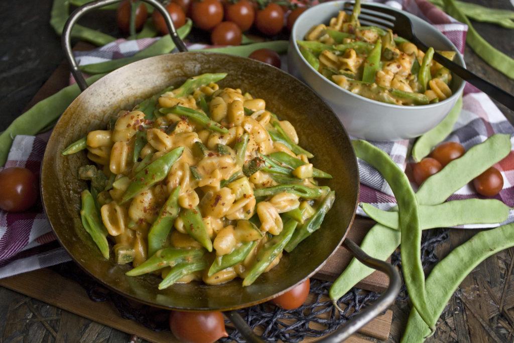 Nudel-Bohnen-Topf mit Zucchini | Toastenstein
