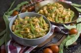 One Pot, Baby! – Nudel-Bohnen-Topf mit Zucchini