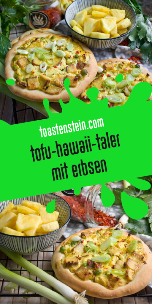 Tofu-Hawaii-Taler mit Räuchertofu | Toastenstein