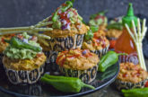 Buuuuh! – Burrito-Muffins [Halloween-Edition]