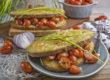Croque Monsieur mit marinierten Tomaten   Toastenstein