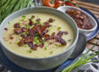 Milde Blumenkohl-Suppe mit Kokos-Bacon | Toastenstein
