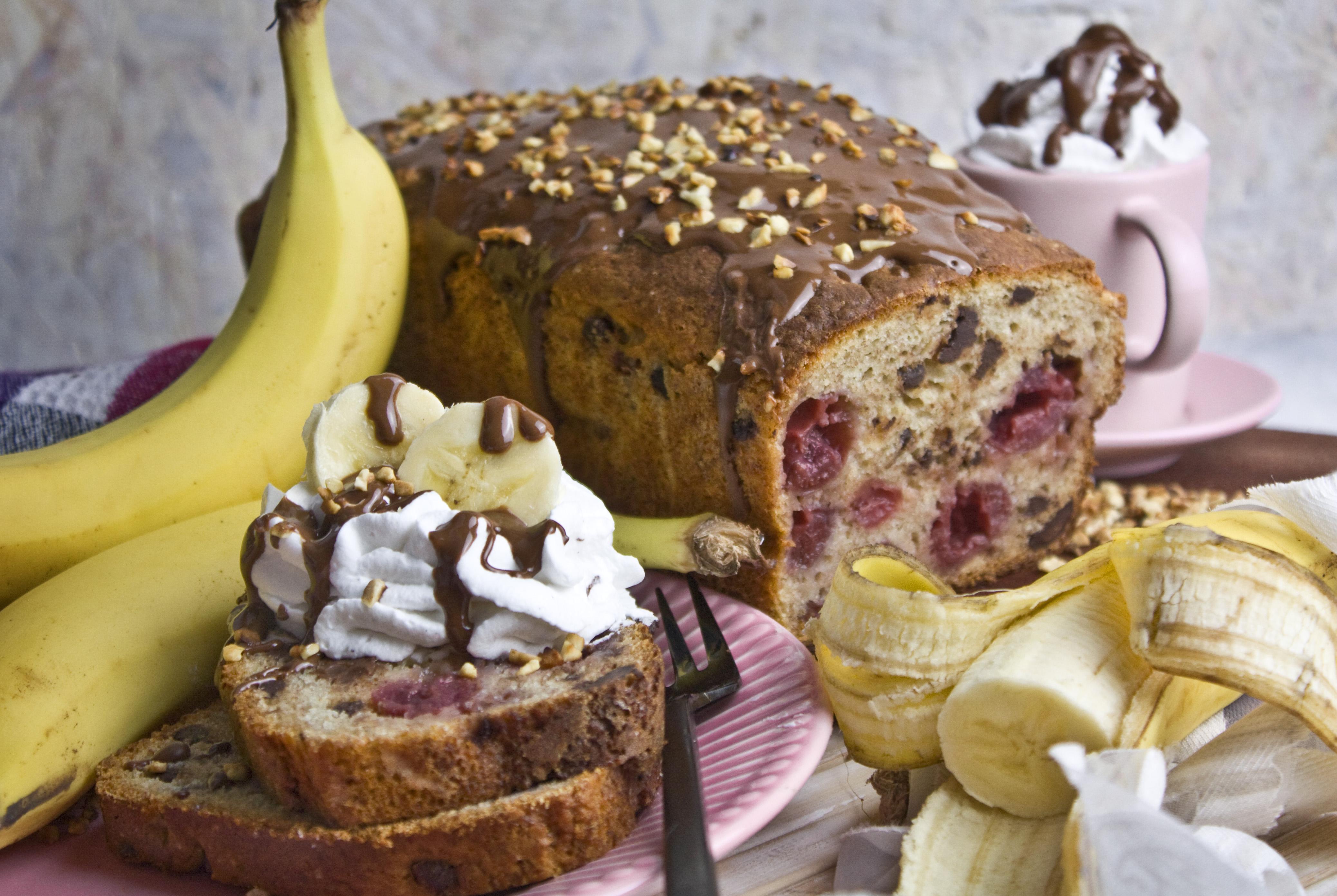 Banana Split-Bananenbrot – Überraschend Simpel! | Toastenstein