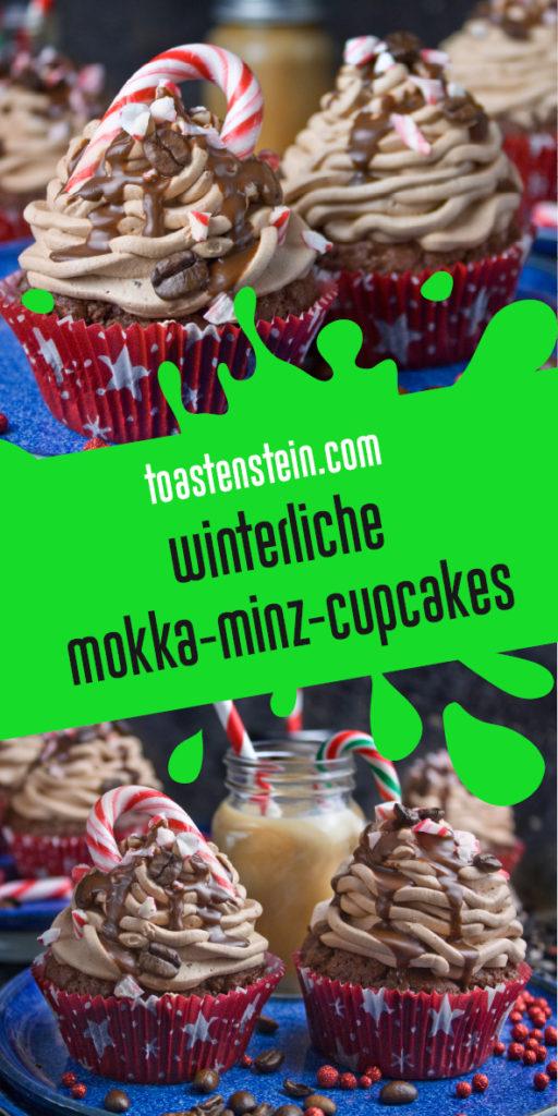 Schokoladige Mokka-Minz-Cupcakes   Toastenstein
