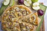 Apfel-Bratwurst-Pizza [Frankenfood]