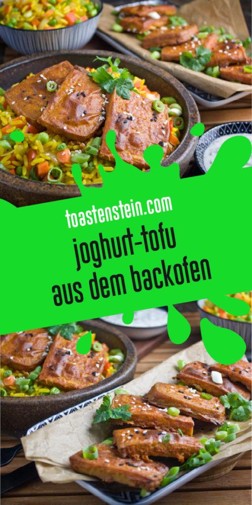 Gebackener Joghurt-Tofu – Indisch angehaucht! | Toastenstein