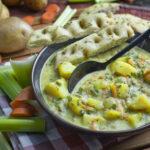 Geschmortes Weißkohl-Curry mit Kartoffeln
