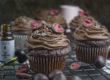 Schokoladen-Cupcakes mit CBD-Öl | Toastenstein