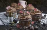 Zum Entspannen – Schokoladen-Cupcakes mit CBD-Öl