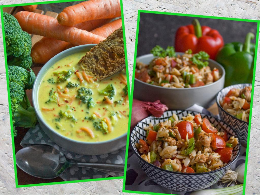 Neujahrsvorsätze: Tipps für angehende Veganer – Brokkoli-Käse-Suppe – Gyros-Nudelsalat | Toastenstein
