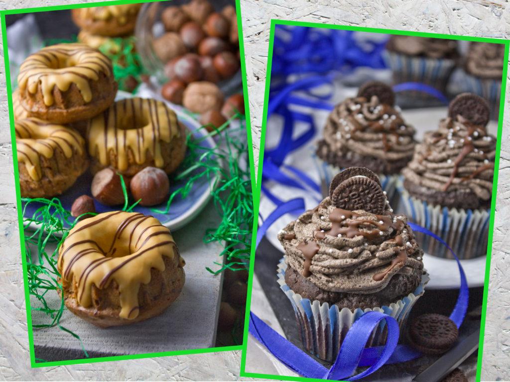 Neujahrsvorsätze: Tipps für angehende Veganer – Backen ohne Ei – Karotten-Nuss-Gugel – Oreo-Cupcakes | Toastenstein