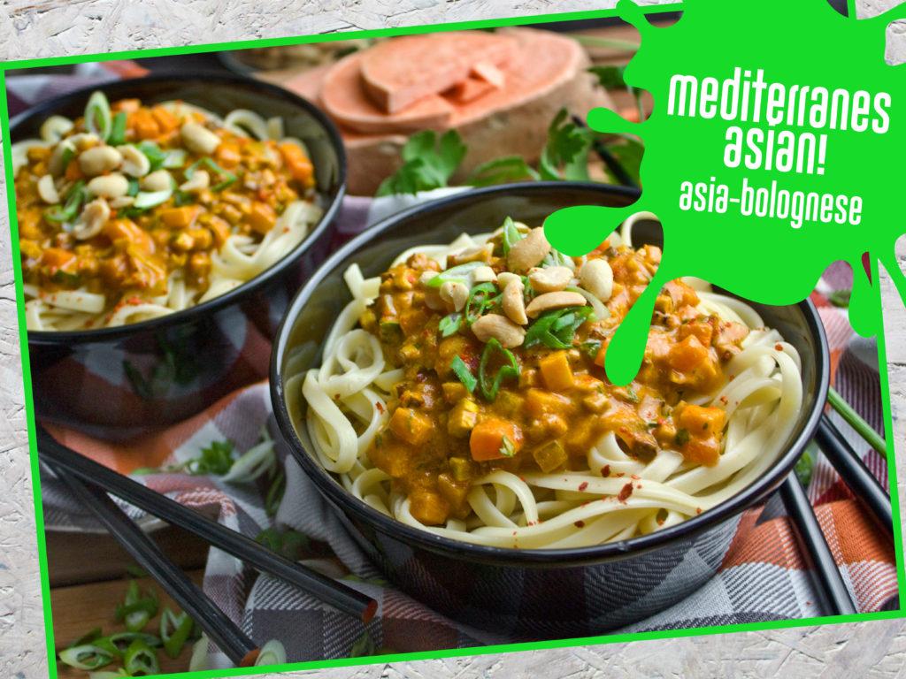 Neujahrsvorsätze: Tipps für angehende Veganer – Anfängertaugliche Rezepte – Asia-Bolognese | Toastenstein