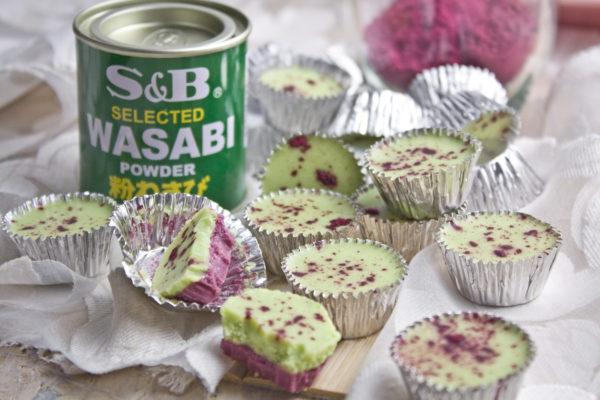 Himbeer-Wasabi-Eiskonfekt [Frankenfoods] | Toastenstein