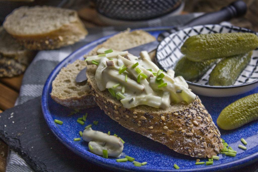 Veganer Tofu-Fleischsalat – Perfekt zur Brotzeit!