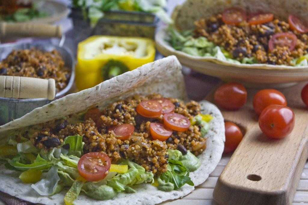 Quinoa-Bohnen-Tacos | Toastenstein