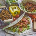 Qunioa-Bohnen-Tacos | Toastenstein