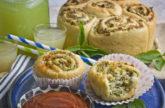 Fluffige Artischocken-Spinat-Schnecken