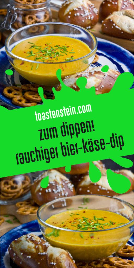 Zum Dippen! – Rauchiger Bier-Käse-Dip | Toastenstein